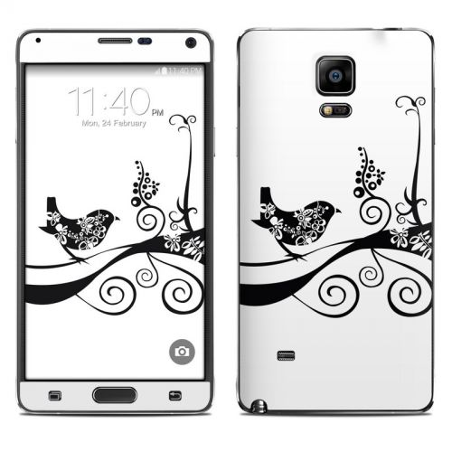 Little Curly Galaxy Note 4 Skin