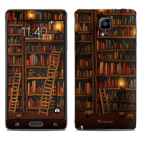 Library Galaxy Note 4 Skin