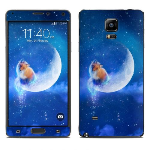 Moon Fox Galaxy Note 4 Skin