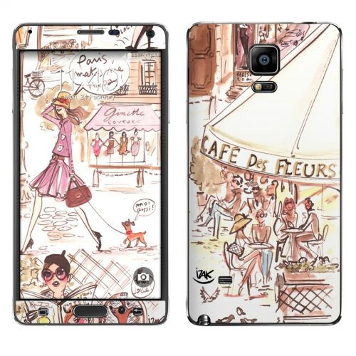 Paris Makes Me Happy Galaxy Note 4 Skin