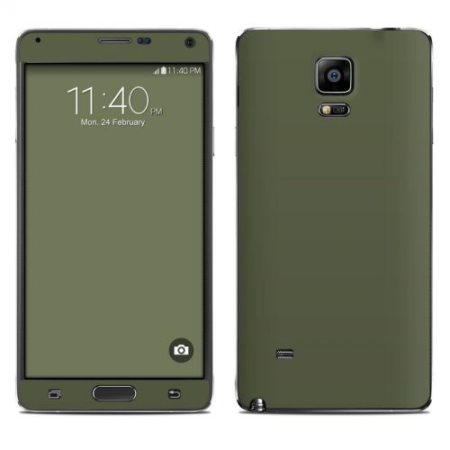 Solid State Olive Drab Galaxy Note 4 Skin