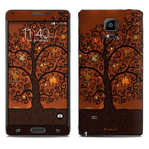 Tree Of Books Galaxy Note 4 Skin