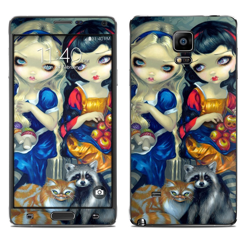 Alice & Snow White Galaxy Note 4 Skin