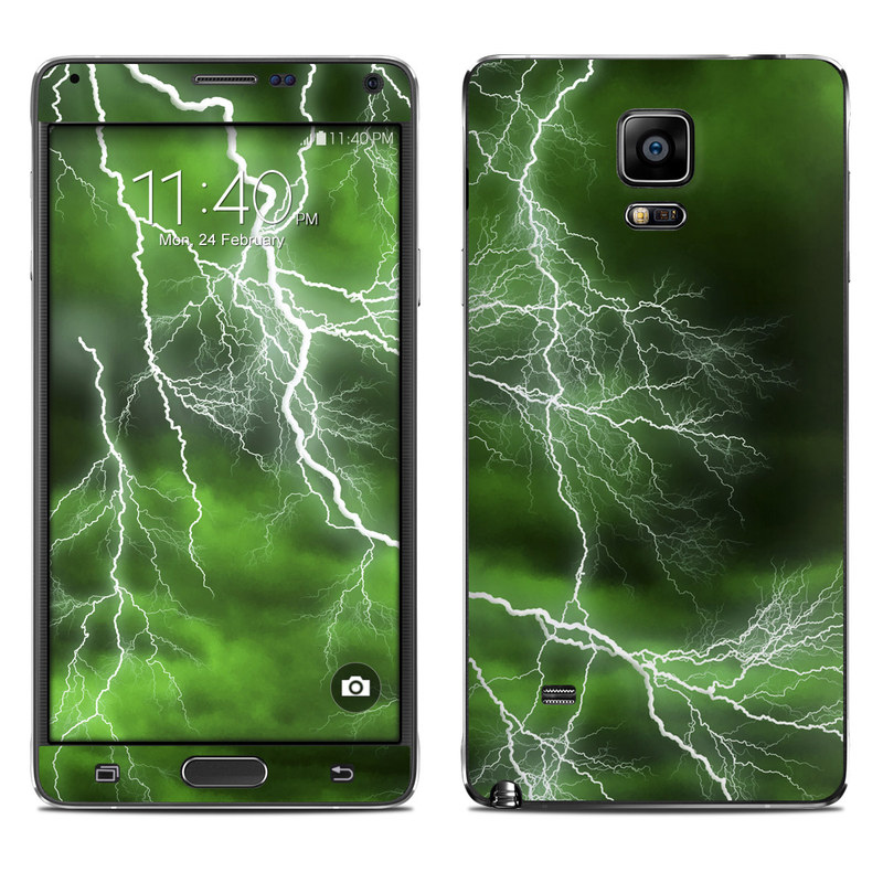 Apocalypse Green Galaxy Note 4 Skin
