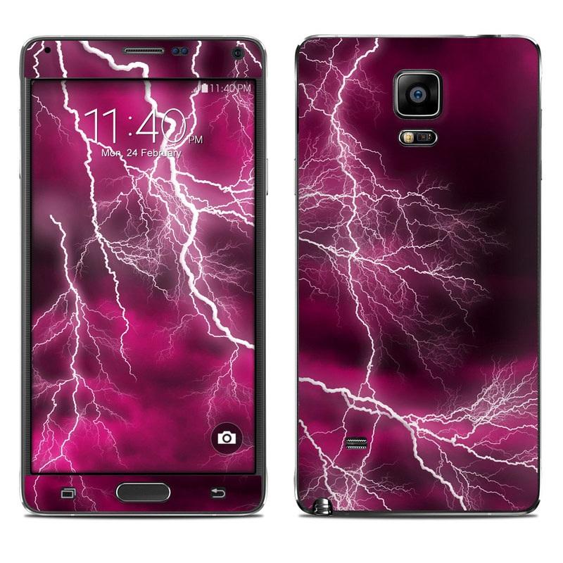 Apocalypse Pink Galaxy Note 4 Skin
