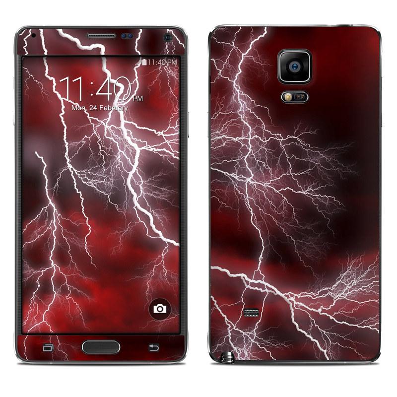 Apocalypse Red Galaxy Note 4 Skin