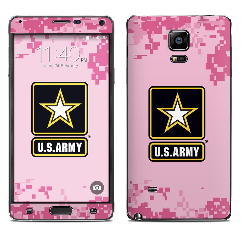 Army Pink Galaxy Note 4 Skin