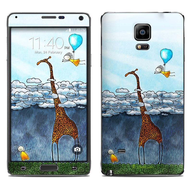 Above The Clouds Galaxy Note 4 Skin