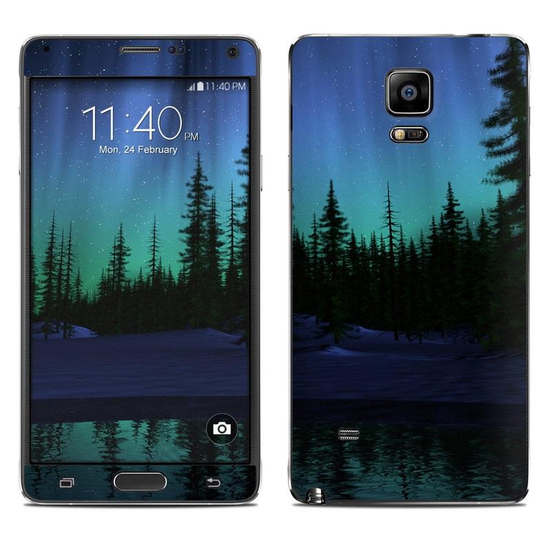 Aurora Galaxy Note 4 Skin