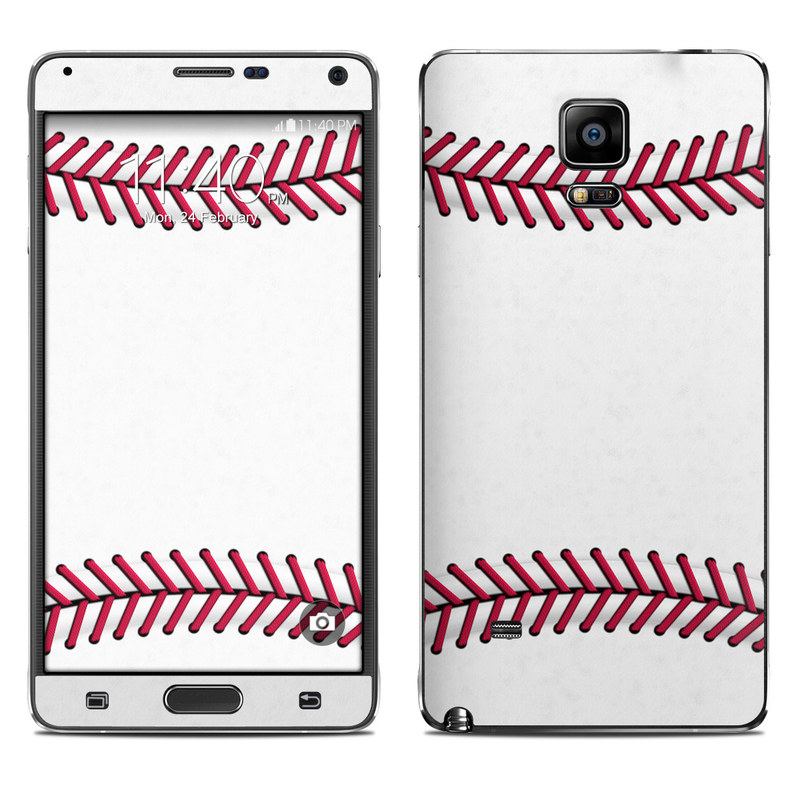 Baseball Galaxy Note 4 Skin