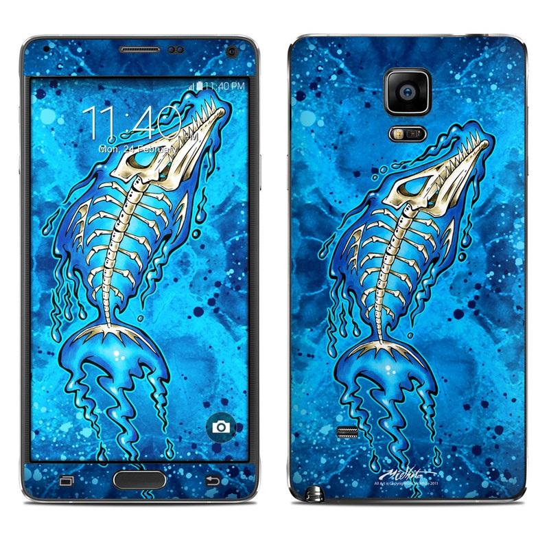 Barracuda Bones Galaxy Note 4 Skin