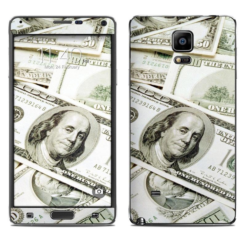 Benjamins Galaxy Note 4 Skin