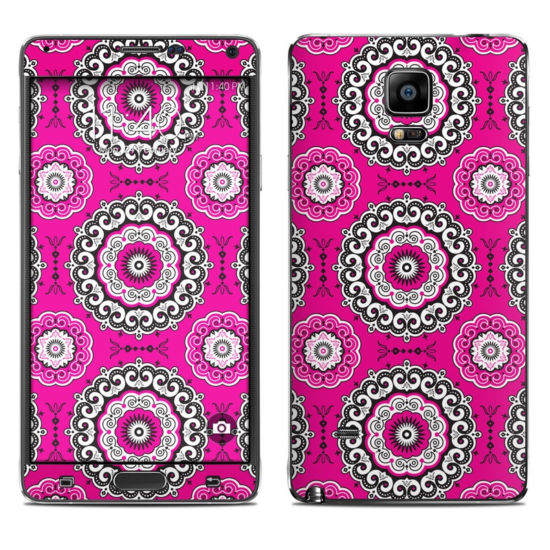 Boho Girl Medallions Galaxy Note 4 Skin