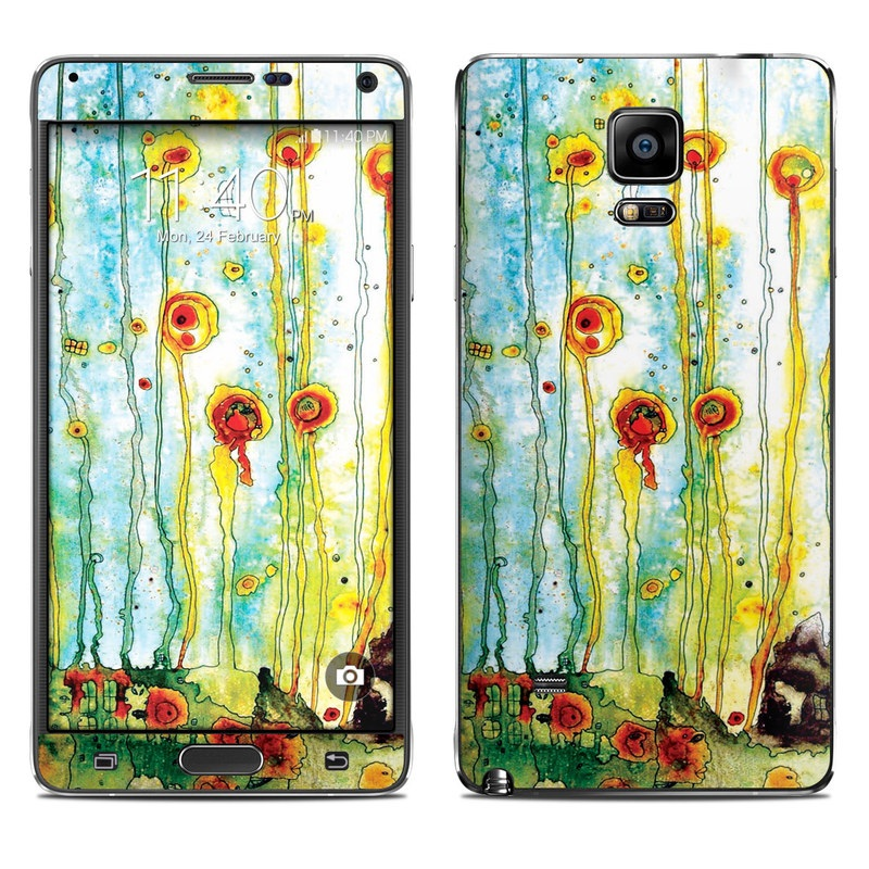 Beneath The Surface Galaxy Note 4 Skin