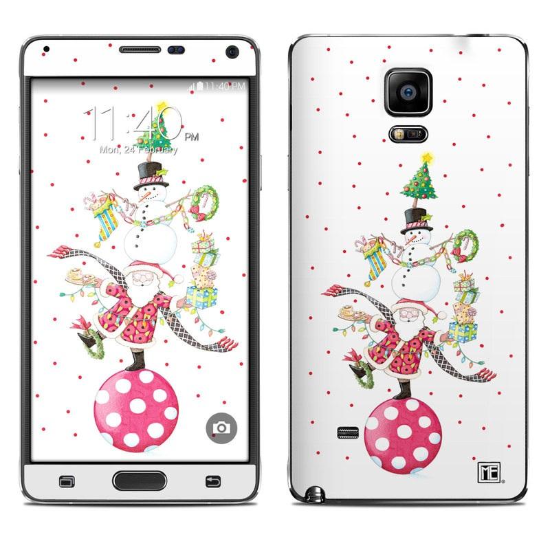 Christmas Circus Galaxy Note 4 Skin