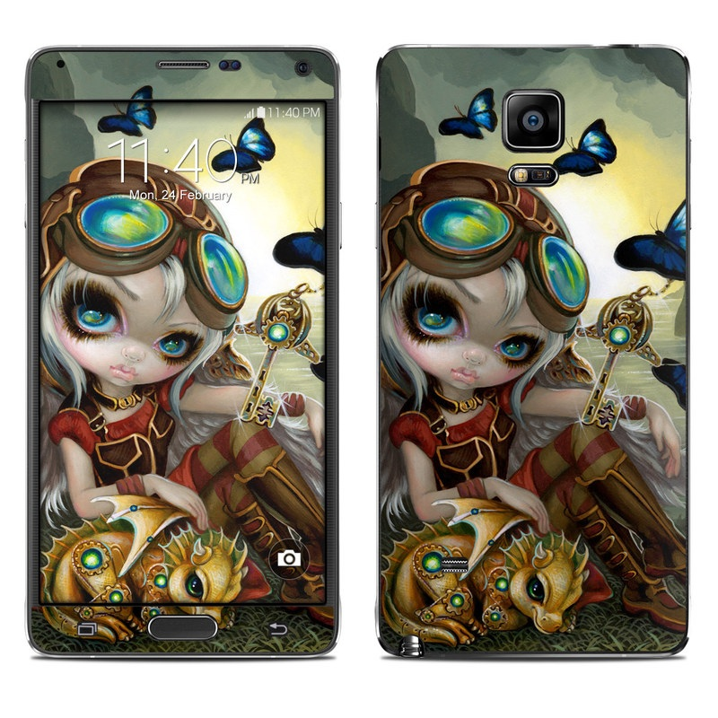 Clockwork Dragonling Galaxy Note 4 Skin