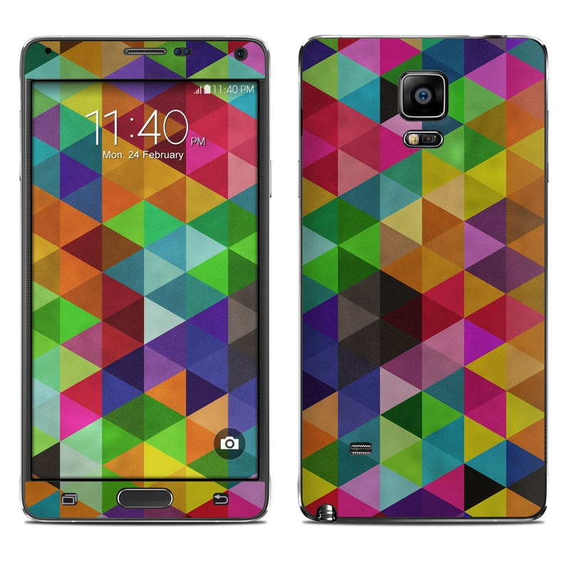 Connection Galaxy Note 4 Skin