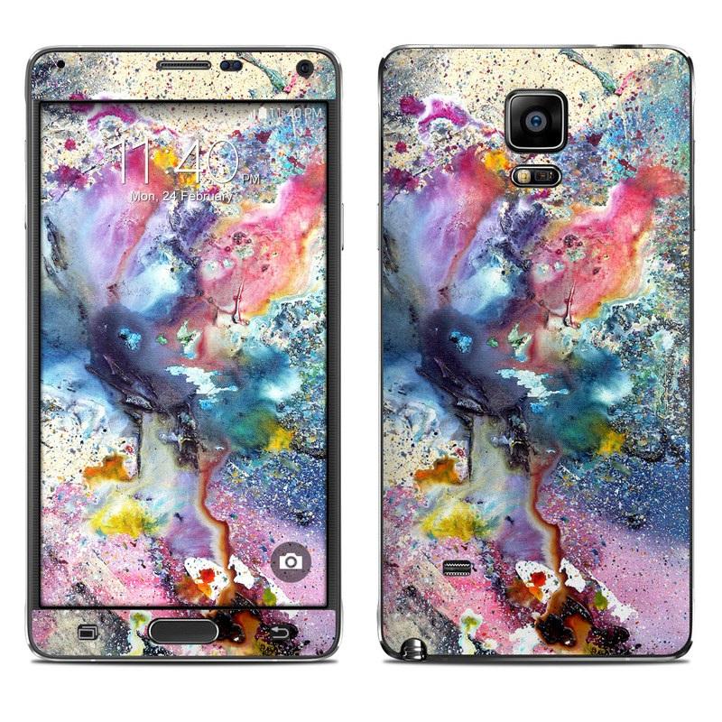 Cosmic Flower Galaxy Note 4 Skin