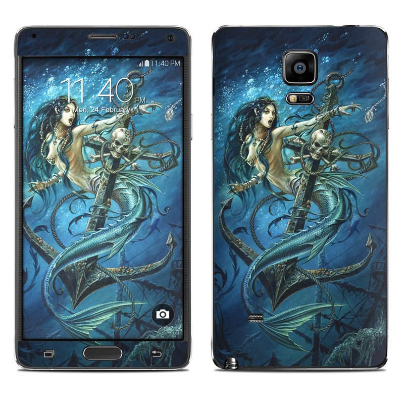 Death Tide Galaxy Note 4 Skin