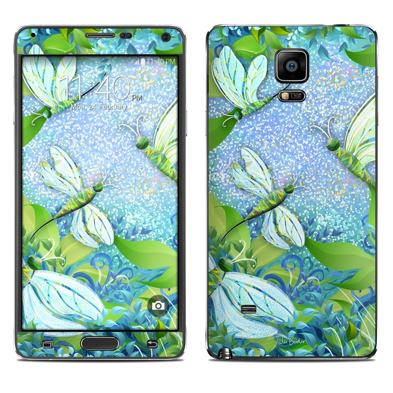Dragonfly Fantasy Galaxy Note 4 Skin