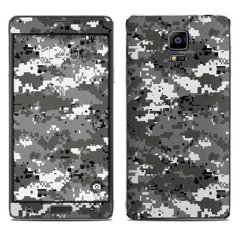 Digital Urban Camo Galaxy Note 4 Skin