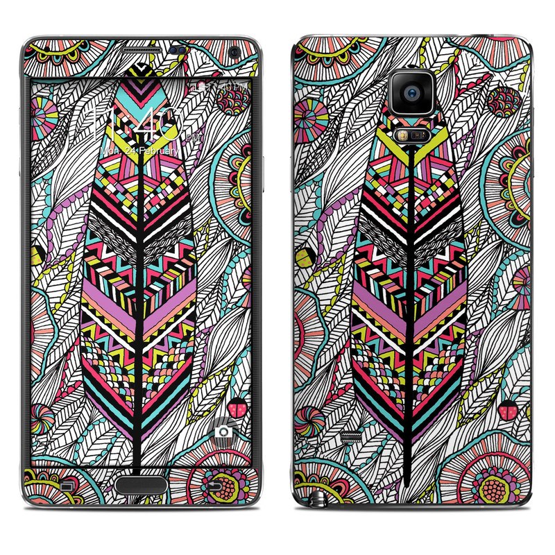 Dream Feather Galaxy Note 4 Skin
