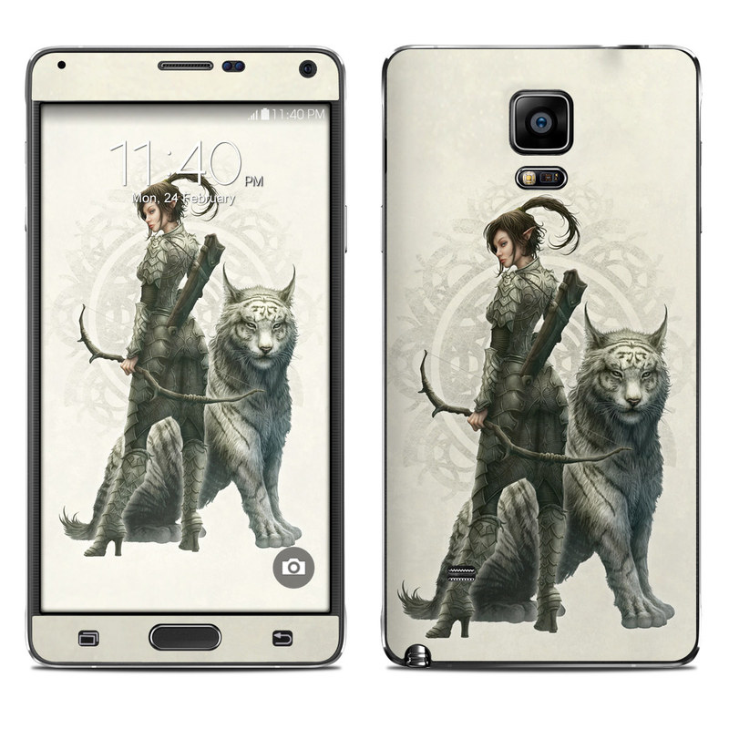Half Elf Girl Galaxy Note 4 Skin