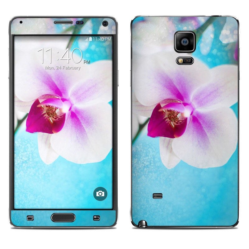 Eva's Flower Galaxy Note 4 Skin