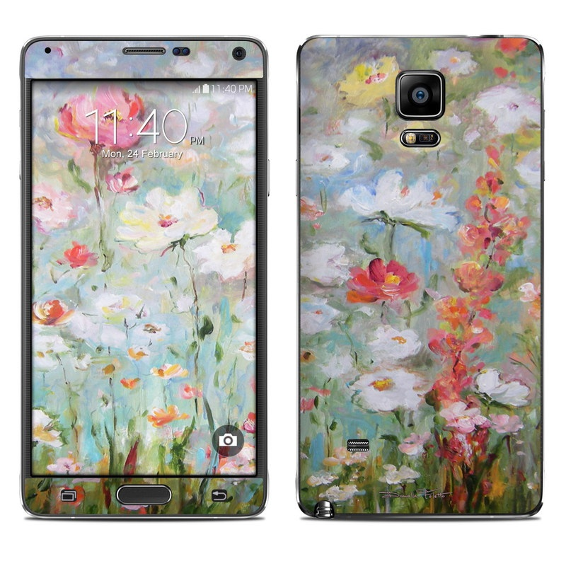 Flower Blooms Galaxy Note 4 Skin