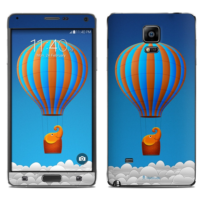 Flying Elephant Galaxy Note 4 Skin