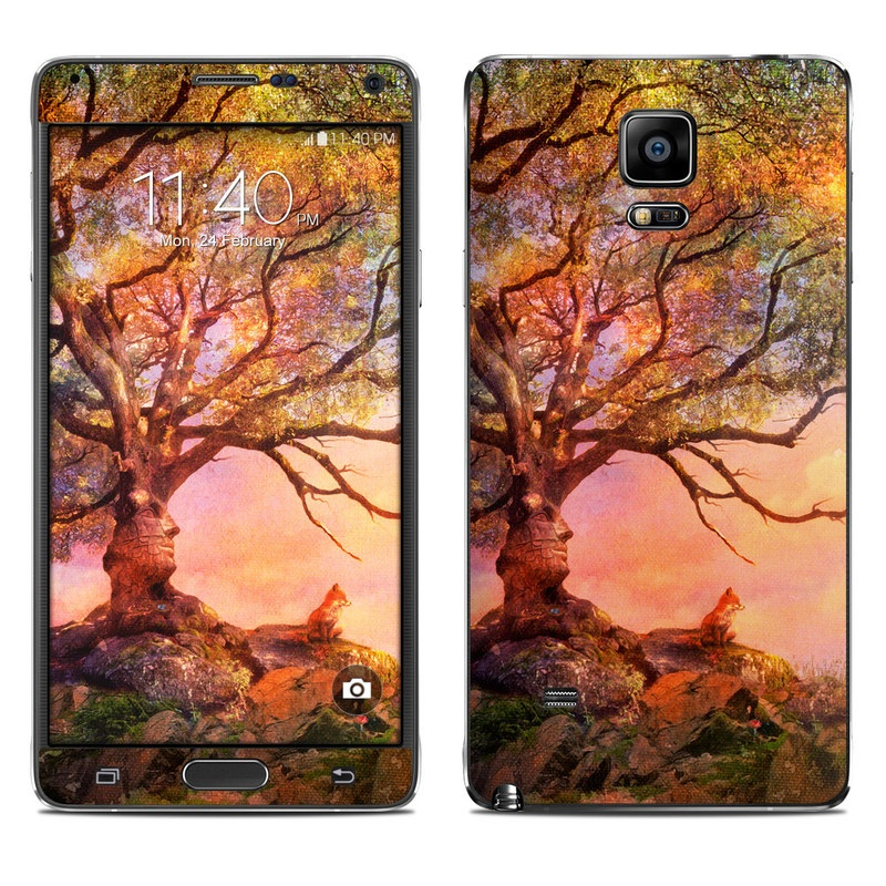 Fox Sunset Galaxy Note 4 Skin