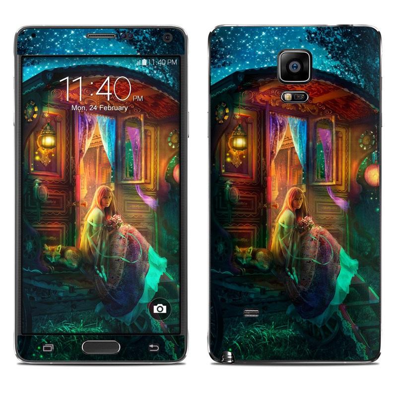 Gypsy Firefly Galaxy Note 4 Skin