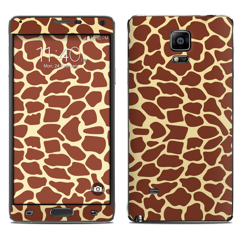 Giraffe Galaxy Note 4 Skin