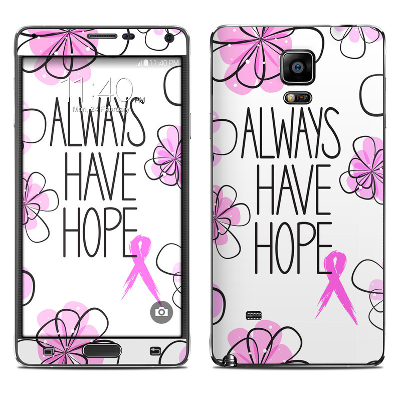Always Have Hope Galaxy Note 4 Skin