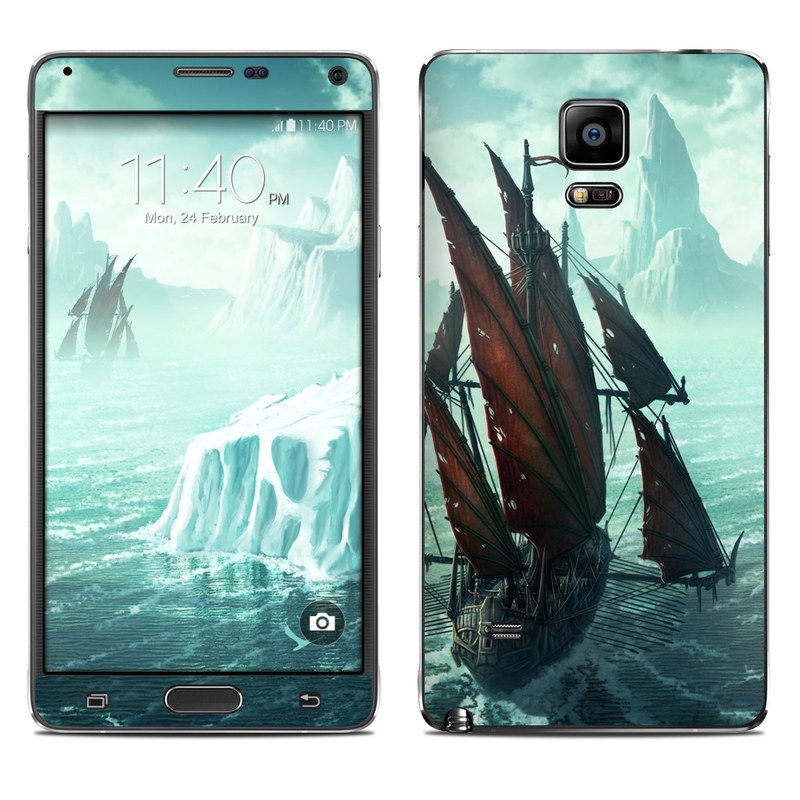 Into the Unknown Galaxy Note 4 Skin