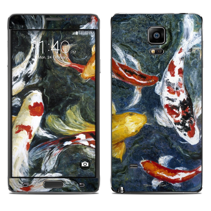 Koi's Happiness Galaxy Note 4 Skin