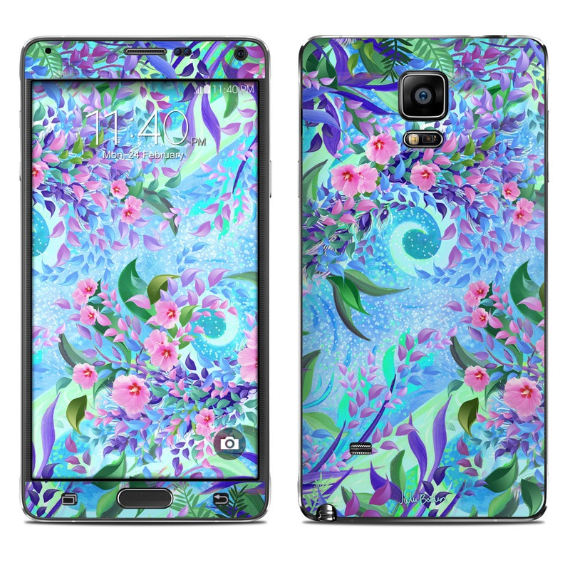 Lavender Flowers Galaxy Note 4 Skin