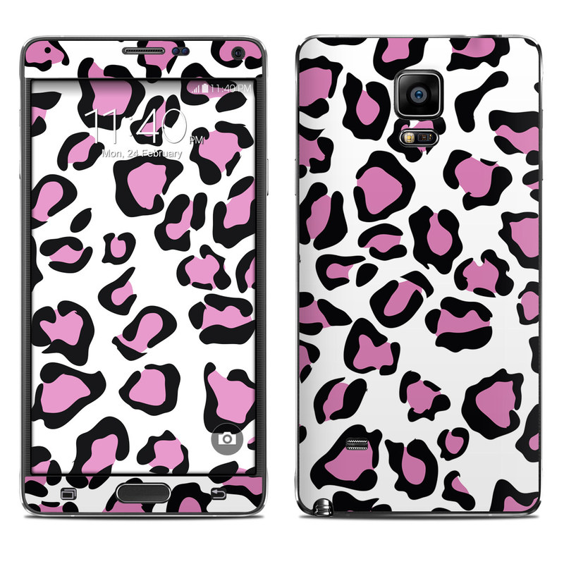Leopard Love Galaxy Note 4 Skin