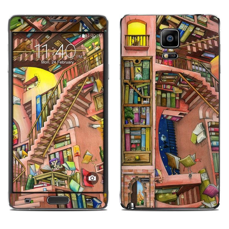 Library Magic Galaxy Note 4 Skin