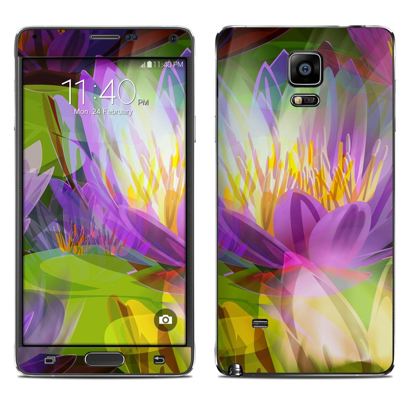 Lily Galaxy Note 4 Skin