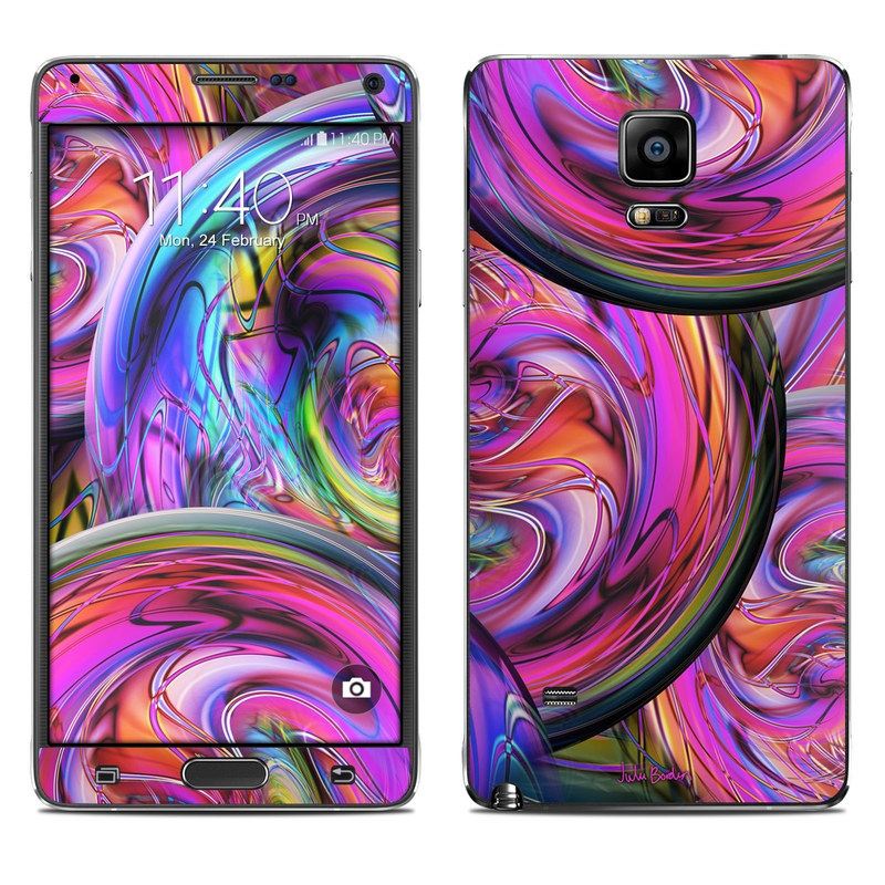 Marbles Galaxy Note 4 Skin