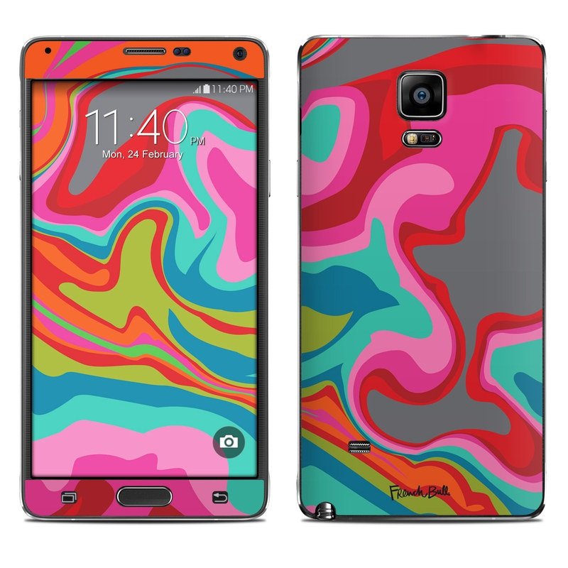 Marble Bright Galaxy Note 4 Skin