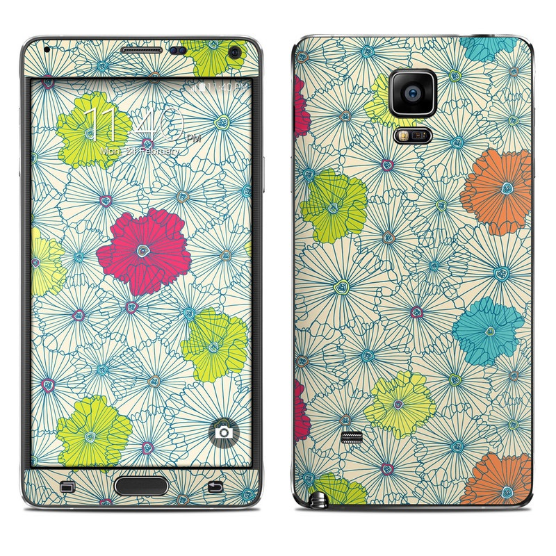 May Flowers Galaxy Note 4 Skin