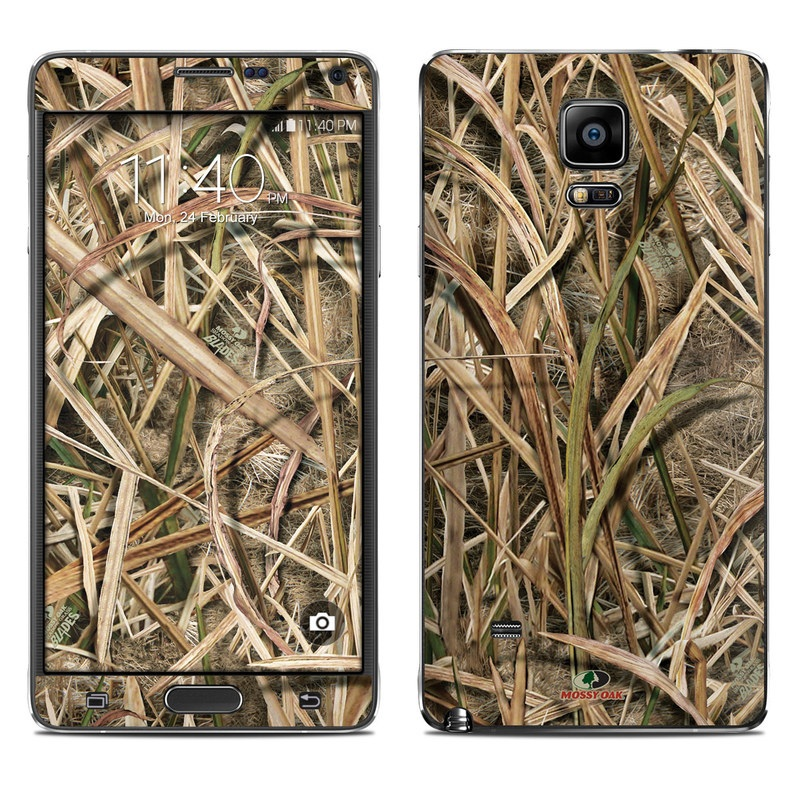 Shadow Grass Blades Galaxy Note 4 Skin