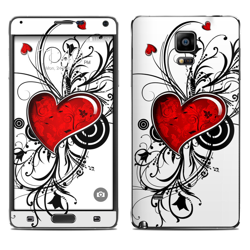 My Heart Galaxy Note 4 Skin