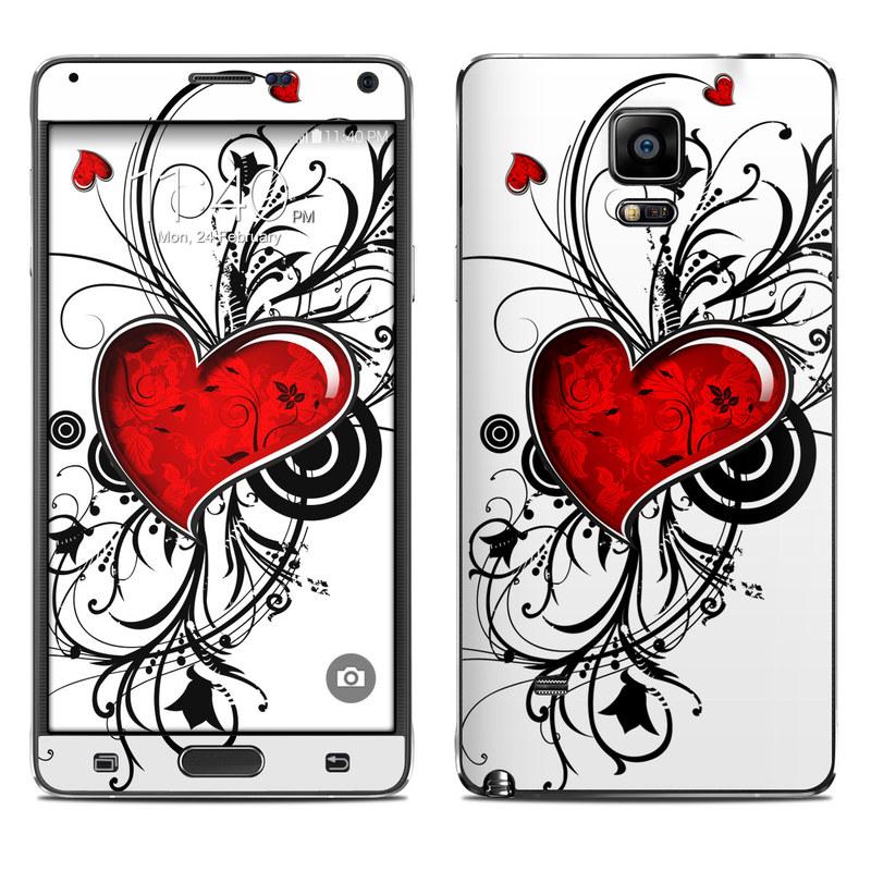 My Heart Galaxy Note 4 Skin