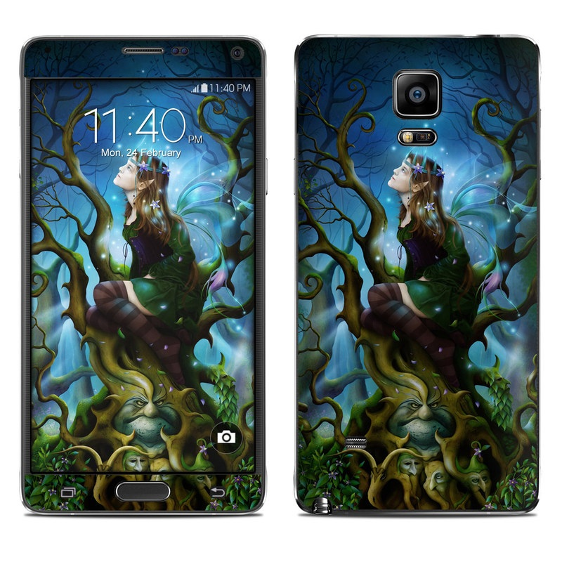 Nightshade Fairy Galaxy Note 4 Skin