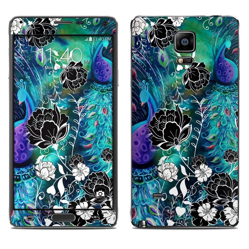 Peacock Garden Galaxy Note 4 Skin