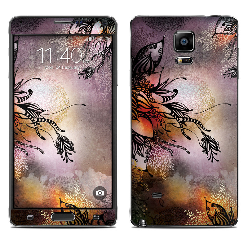 Purple Rain Galaxy Note 4 Skin