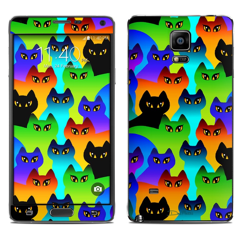 Rainbow Cats Galaxy Note 4 Skin